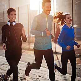 Бег и фитнес