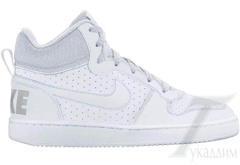 Boys' Nike Court Borough Mid (GS) Shoe