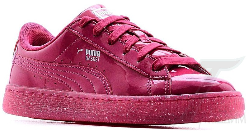 Puma Basket Patent Iced Glit Jr